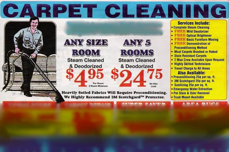 Bait & Switch Carpet Cleaning