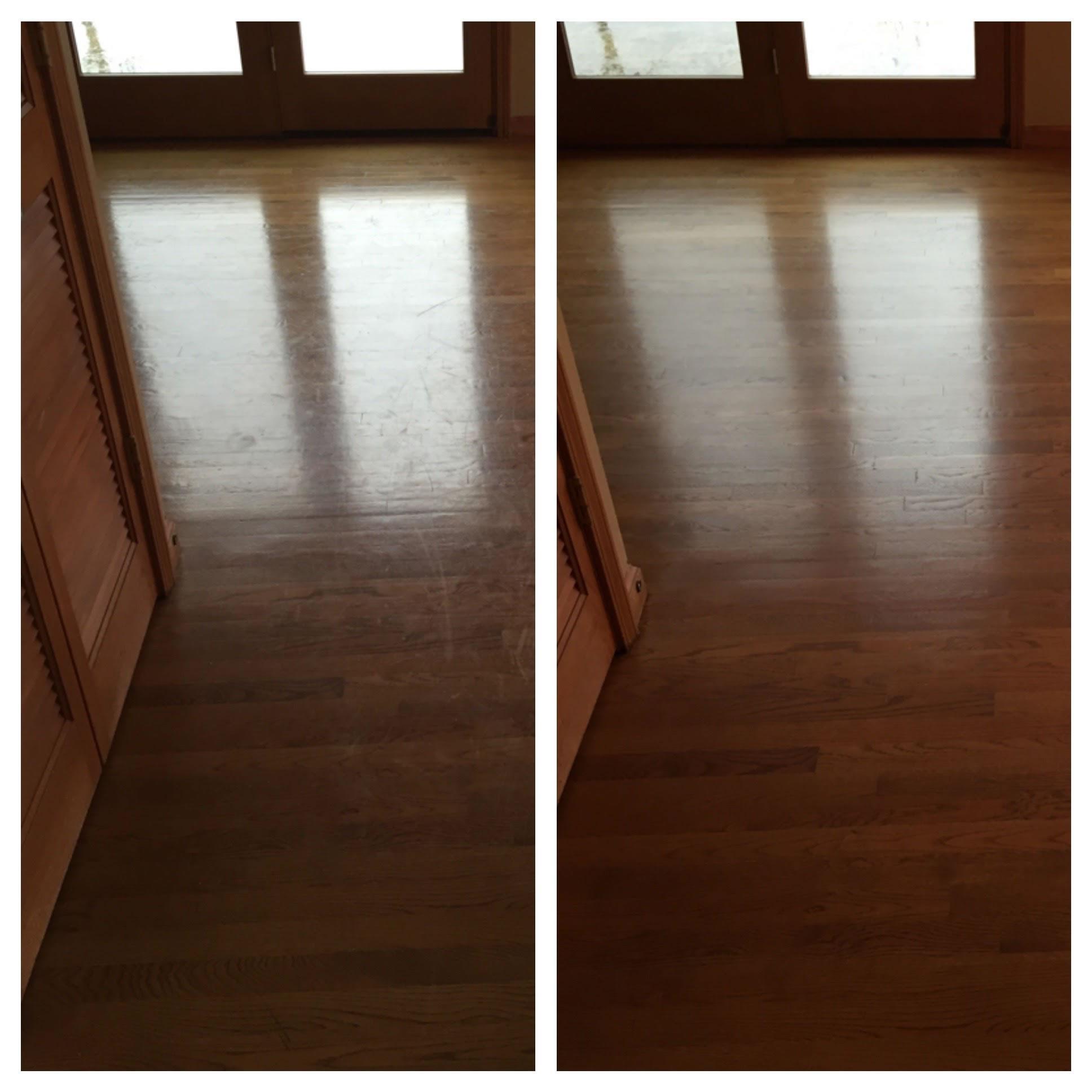 Wood Floor Clean & Polish